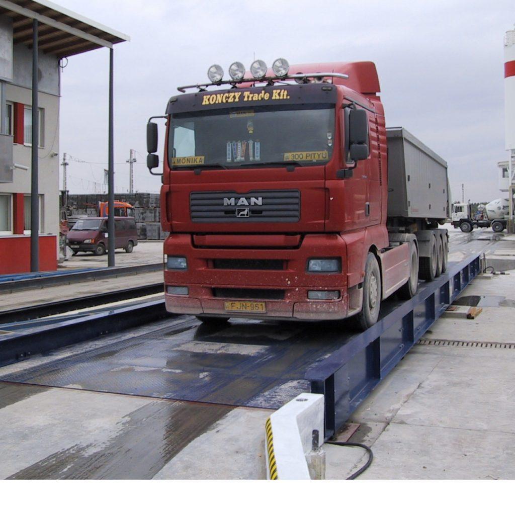 Kamion a hídmérlegen - Micra.hu online pénztárgépek
